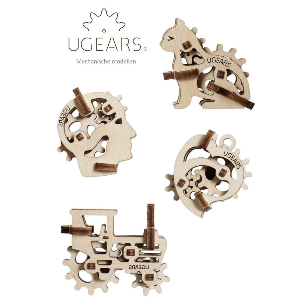 U-Fidgets Tribiks Puzzle - Set of 4 - bigsmall.in