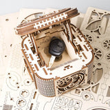 Ugears Treasure Box Model - bigsmall.in