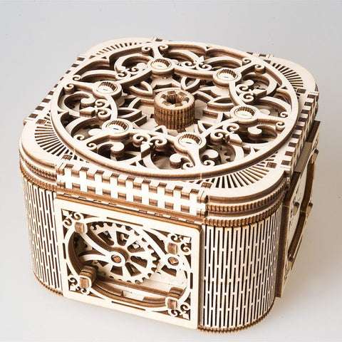Ugears Treasure Box Model