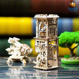Ugears Archballista Tower Mechanical Model - bigsmall.in