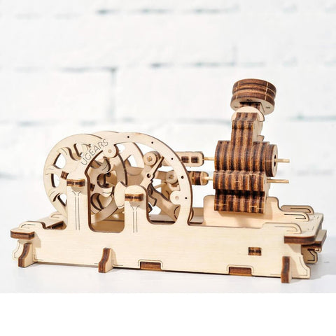 Ugears Pneumatic Engine Puzzle