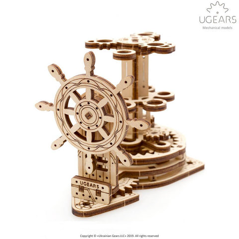 Ugears Wheel Organizer Puzzle - bigsmall.in