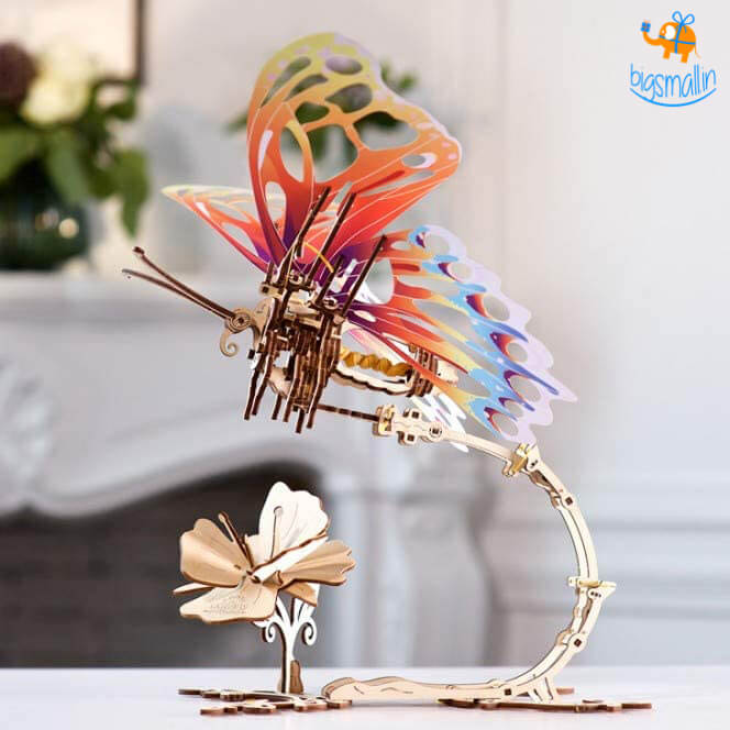 Ugears Butterfly Mechanical Puzzle