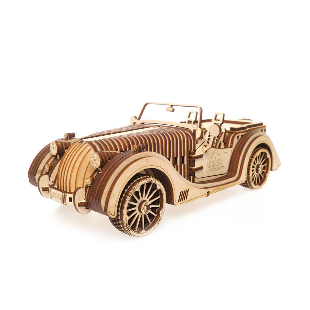 Ugears Roadster VM-01 Mechanical Puzzle - bigsmall.in