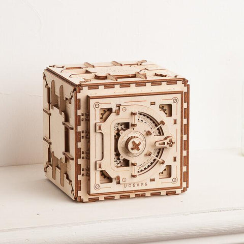 Ugears Mechanical Safe Puzzle