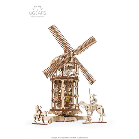 Ugears Tower Windmill Mechanical Puzzle