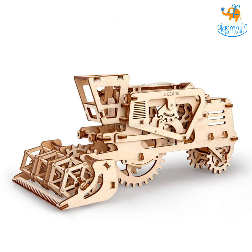 Ugears Combine Harvester Mechanical Model - bigsmall.in