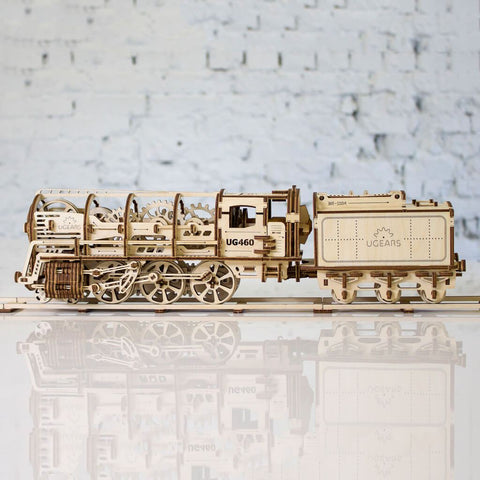 Ugears Train Mechanoid Puzzle - bigsmall.in
