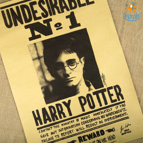 Harry Potter Poster - Undesirable No. 1