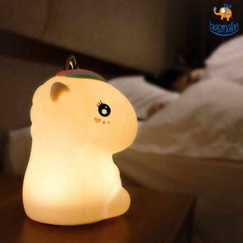 Unicorn Touch Silicone Lamp