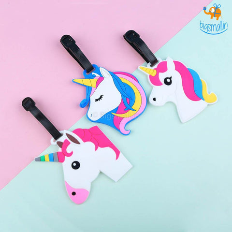 Unicorn Luggage Tags