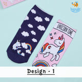 Unicorn Socks - Set of 2 - bigsmall.in