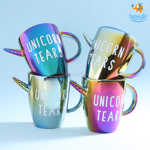 3D Unicorn Tears Mug - bigsmall.in