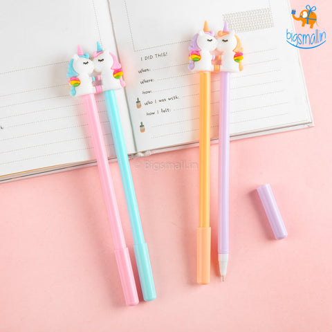 Unicorn Kissing Double Pens
