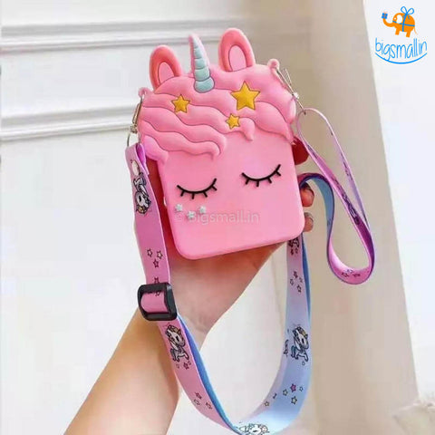 Unicorn Silicone Mini Bag