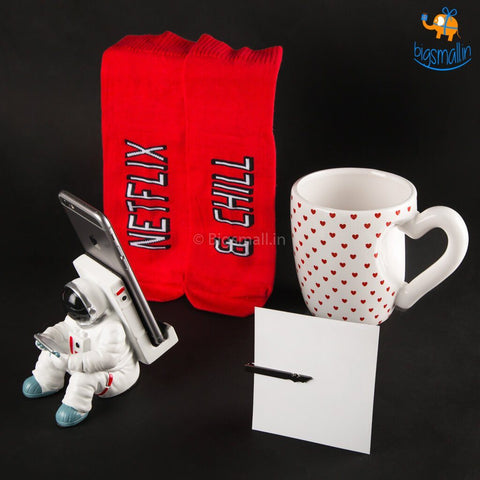 Valentine's Day Gift Set For Him - 4 pcs - bigsmall.in