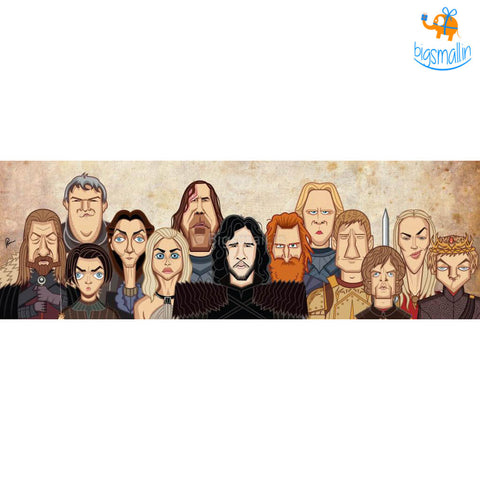 Game Of Thrones Laminated Poster - bigsmall.in