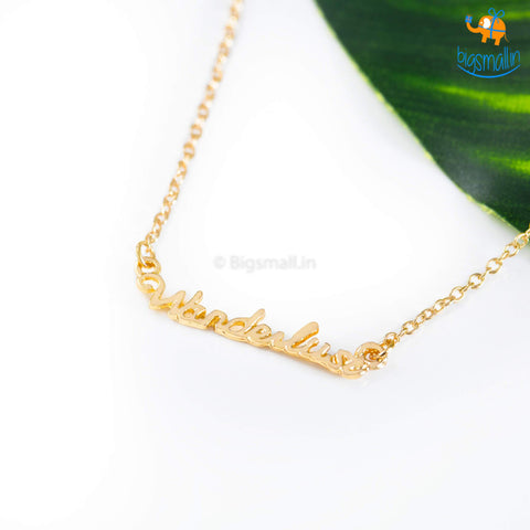 Wanderlust Necklace - bigsmall.in
