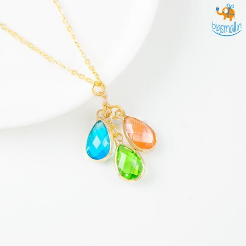 Water Drops Necklace - bigsmall.in