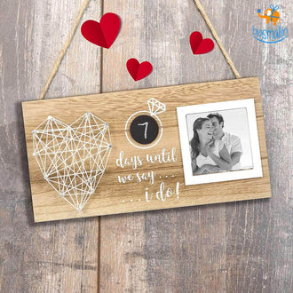 Wedding Countdown Frame