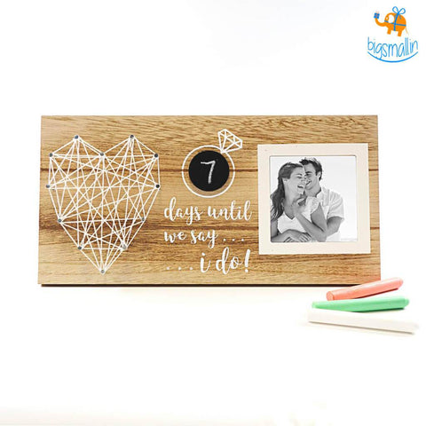Wedding Countdown Frame - bigsmall.in