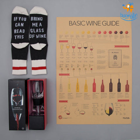 Wine Gift Set - bigsmall.in