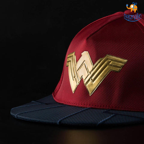Official Wonder Woman Cap - bigsmall.in