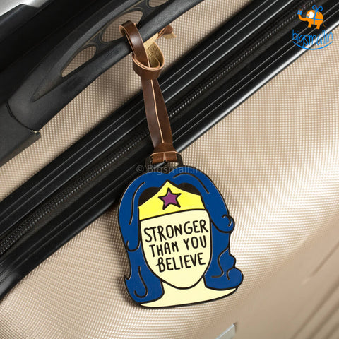 Wonder Woman Luggage Tag