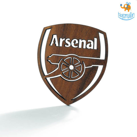 Arsenal Laser Cut Wooden Coasters - Set of 4 - bigsmall.in