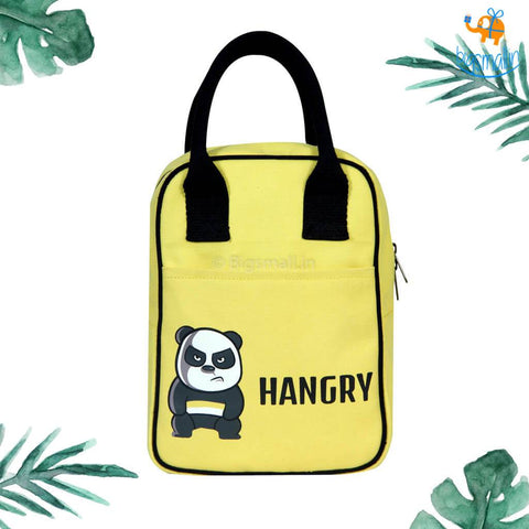Hangry Canvas Lunch Bag - bigsmall.in