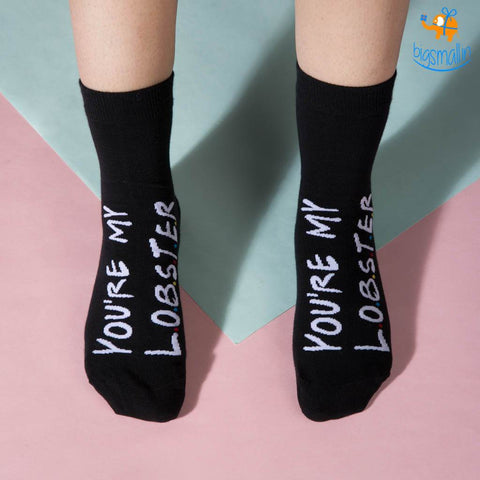 You Are My Lobster Socks - bigsmall.in