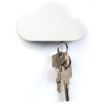 Cloud Magnetic Keychain Holder - bigsmall.in