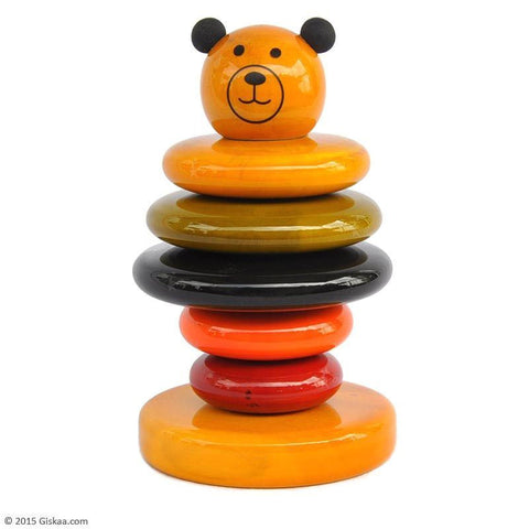 Cubby - Wooden Stacker Toy by Maya Organic