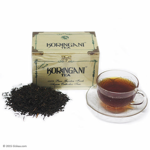 Korangani Wodden Cheslet Orthodox Tea - 200 g