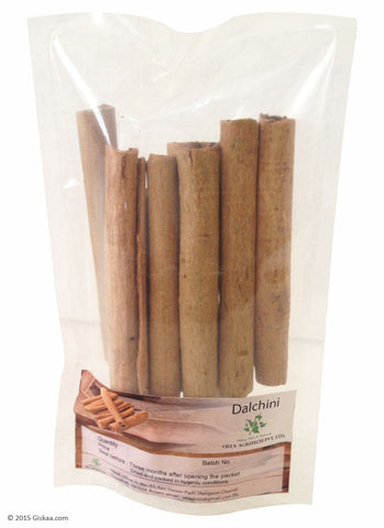 Cinnamon or Dalchini - 100 g - Pack of 2