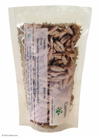 Cumin Seed or Jeera - 50 g -  Pack of 4