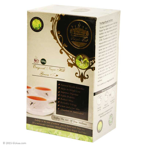 Original Naga Hill Green Tea