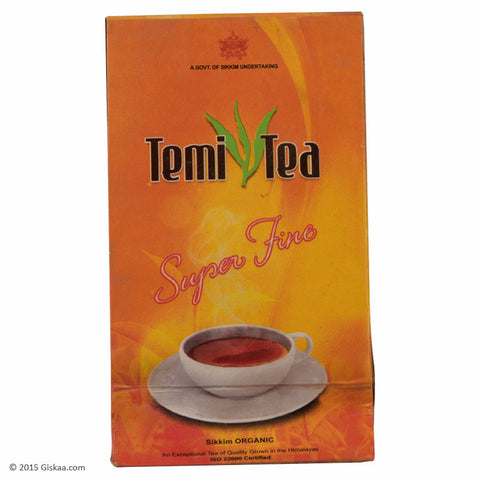 Temi Tea Super Fine - 25 Dip Bags - Pack of 4