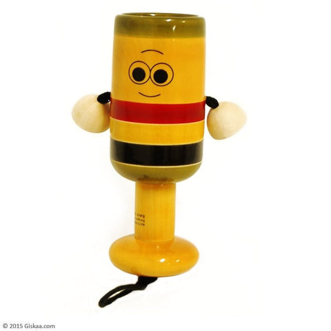 Bell Rattle - Handcrafted Wooden Toy