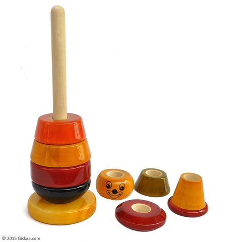 Bibbo - Handcrafted Wooden Toy