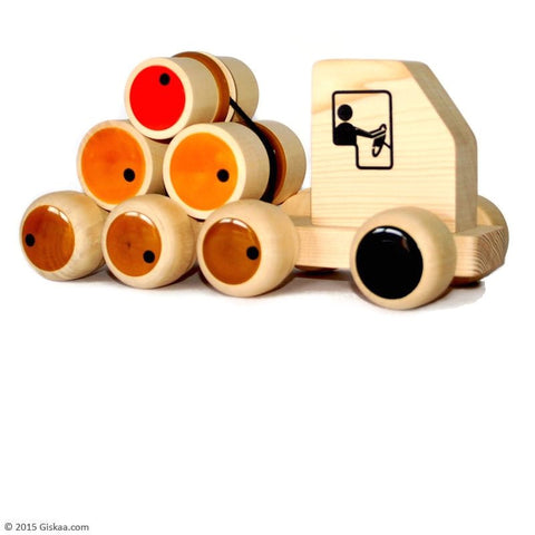 Rumbellory - Handcrafted Wooden Push Toy