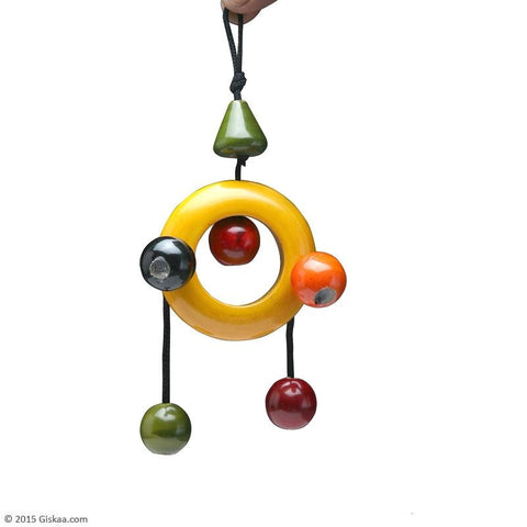 Dangler Ring - Handcrafted Wooden Toy