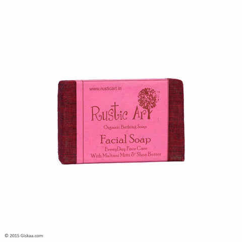 Rustic Art Organic Facial Soap - 100g