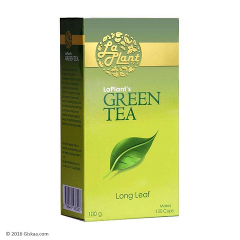 LaPlant Green Tea, Long Leaf - 100 g (Pack of 2)