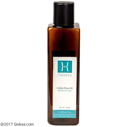 Vedaya Cellulite Detox Oil - Haritkyadi Taila - 175ml