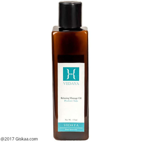 Vedaya Relaxing Massage Oil - Prashant Taila - 175ml
