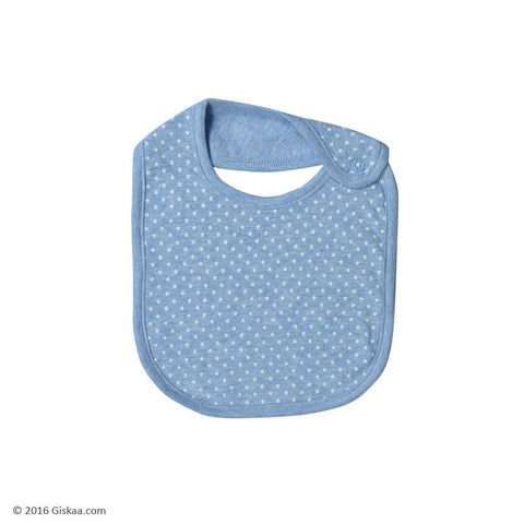 Berrytree Baby Bib Blue Stars - Organic (Set of 2)