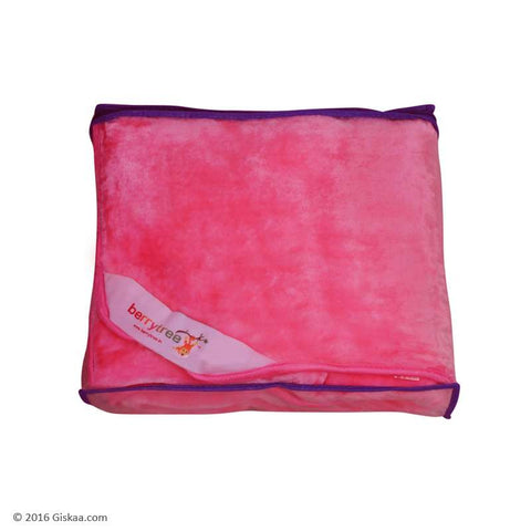 Berrytree Baby Blanket: Baby Pink