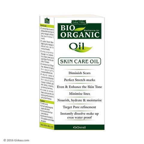 Indus Valley Bio Organic Oil - 60 ml