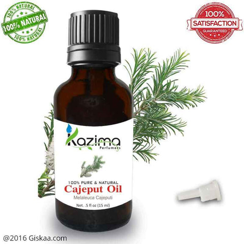 Kazima Cajeput Essential Oil- 100% Pure Natural And Undiluted Oil- 15ml